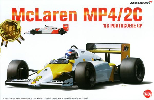 マクラーレン MP4/2C 1986 ポルトガルGPプラモデル(NuNu1/20 フォーミュラシリーズNo.PN20001)商品画像