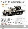 ドイツ Sd.Kfz.7/2 8トン ハーフトラック 37mm Flak36 自走対空坊 極初期型