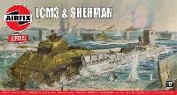 エアフィックス1/76 ミリタリーLCM 3 & シャーマン戦車
