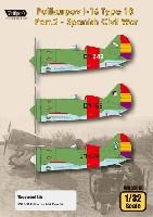 ポリカリポフ I-16 Type10 Part.2 スペイン内戦 (ICM対応)