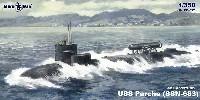 ミクロミル1/350 艦船モデルUSS パーチー SSN-683 初期型