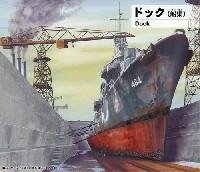 ピットロード1/700 スカイウェーブ SW シリーズドック (船渠)