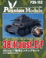 パッションモデルズ1/35 シリーズ38(t) E/F型用 エッチングセット (タミヤ対応)