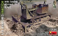 ミニアート1/35 WW2 ミリタリーミニチュアアメリカ 装甲トラクター w/ アングル ドーザーブレード