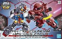 RX-78-2 ガンダム & シャア専用ザク 2