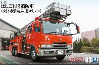 はしご付き消防車 大津市消防局 東はしご1