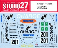 スタジオ27ツーリングカー/GTカー オリジナルデカールマツダ 767 #201 WEC 富士 1988