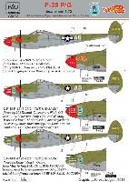 HAD MODELS1/72 デカールP-38F/G ライトニング THE SAD SACK / BARBARA ANN デカール