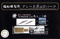 日本海軍 重巡洋艦 最上型 (最上/三隈) エッチングパーツ