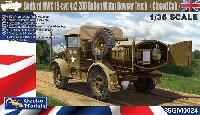 ゲッコーモデル1/35 ミリタリーベッドフォード MWC 15-cwt 4x2 200ガロン 給水トラック クローズキャブ