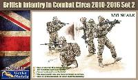 ゲッコーモデル1/35 ミリタリー現用イギリス軍 歩兵 戦闘中 2010-2016年頃 セット2
