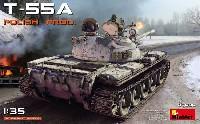 ミニアート1/35 ミリタリーミニチュアT-55A ポーランド製