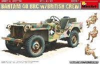 ミニアート1/35 WW2 ミリタリーミニチュアバンタム 40 RBC w/イギリス兵 スペシャルエディション