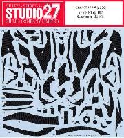 スタジオ27バイク カーボンデカールカワサキ ニンジャ H2 カーボンデカール