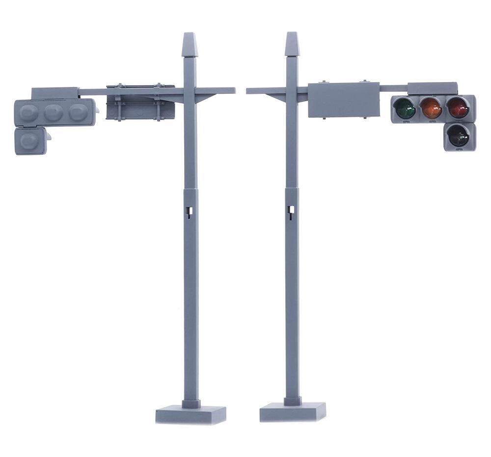 交通信号機 車両用2基/歩行者用4基セットプラモデル(フジミガレージ&ツールNo.035)商品画像_1