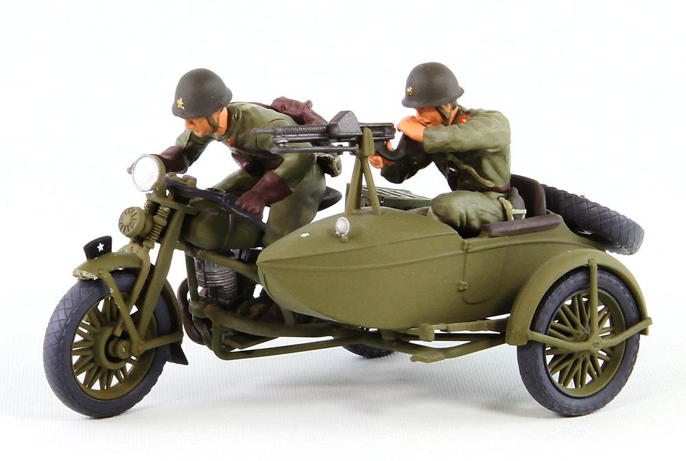 日本陸軍 九七式側射付 自動二輪車 陸王 (ピットロード 1/35 グランドアーマーシリーズ G50) の商品画像