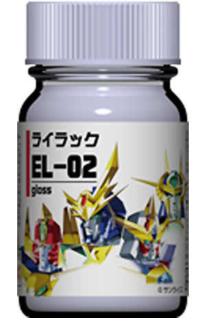 EL-02 ライラック塗料(ガイアノーツエルドランカラーNo.33972)商品画像