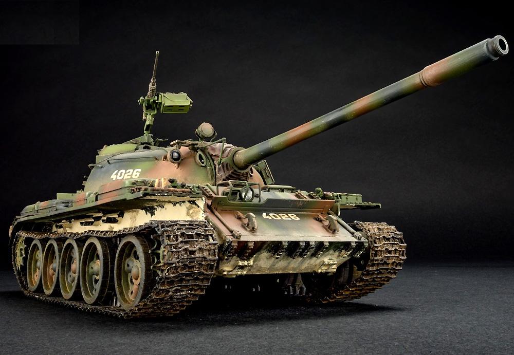 クロアチア製 T-55Aプラモデル(ミニアート1/35 ミリタリーミニチュアNo.37088)商品画像_2