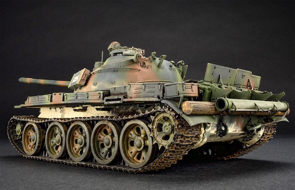 クロアチア製 T-55Aプラモデル(ミニアート1/35 ミリタリーミニチュアNo.37088)商品画像_3