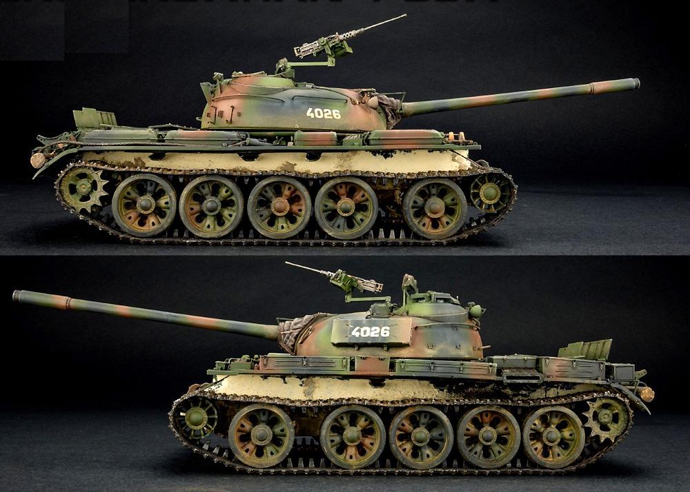クロアチア製 T-55Aプラモデル(ミニアート1/35 ミリタリーミニチュアNo.37088)商品画像_4