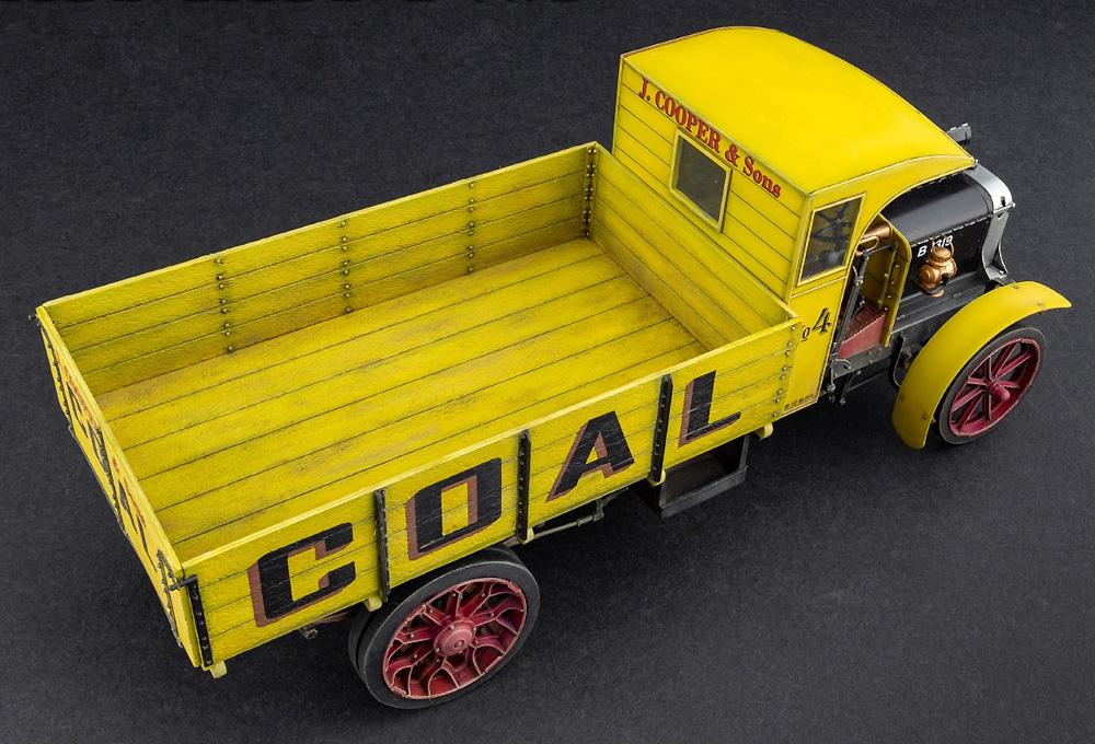 イギリス 貨物自動車 3トン LGOC Bタイププラモデル(ミニアート1/35 ミニチュアシリーズNo.38027)商品画像_3