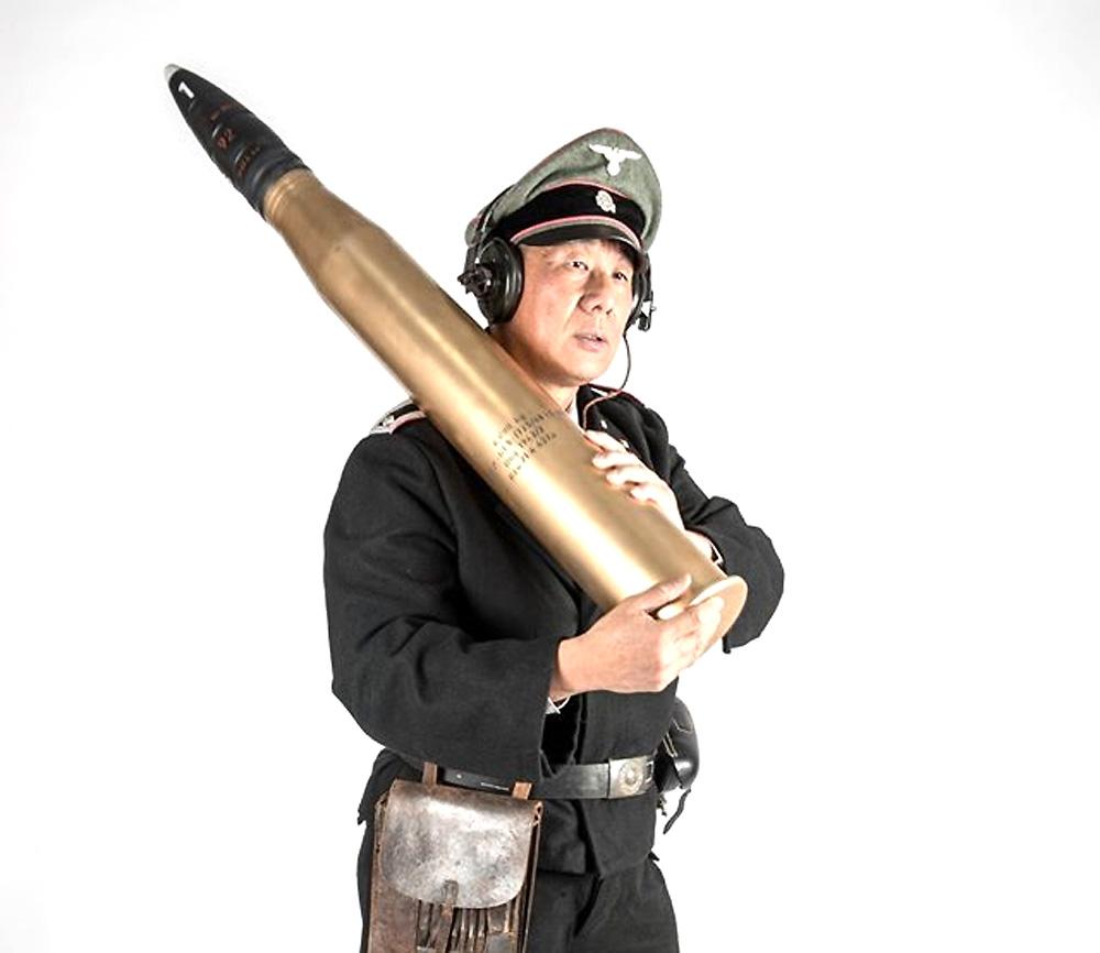 8.8cm Pzgr.39/43 (APCBC-HE) L/71 徹甲弾 ティーガー2用プラモデル(ピッグモデルミリタリーNo.1-002)商品画像_3