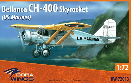 べランカ CH-400 スカイロケット (アメリカ海軍)プラモデル(ドラ ウイングス1/72 エアクラフト プラモデルNo.DW72013)商品画像