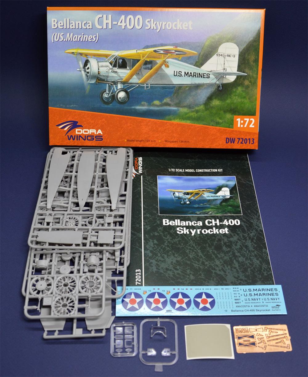 べランカ CH-400 スカイロケット (アメリカ海軍)プラモデル(ドラ ウイングス1/72 エアクラフト プラモデルNo.DW72013)商品画像_1