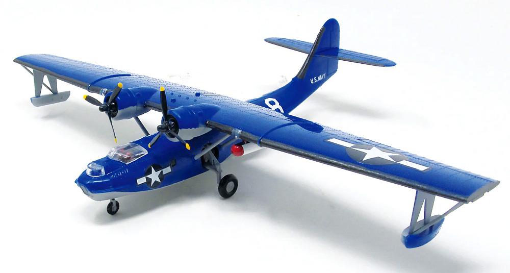 アメリカ海軍 PBY-5A カタリナ 飛行艇プラモデル(アトランティスプラスチックモデルキットNo.M5301)商品画像_1