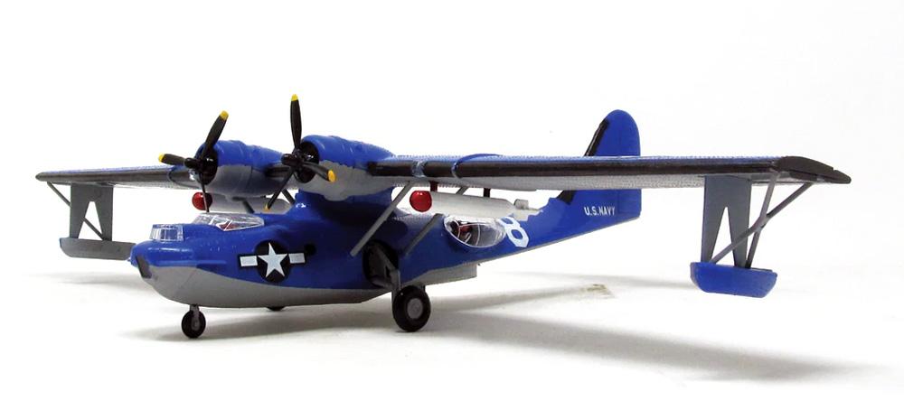 アメリカ海軍 PBY-5A カタリナ 飛行艇プラモデル(アトランティスプラスチックモデルキットNo.M5301)商品画像_4