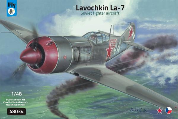 ラヴォーチキン La-7 ソビエト戦闘機プラモデル(フライ1/48 エアクラフト プラモデルNo.48034)商品画像