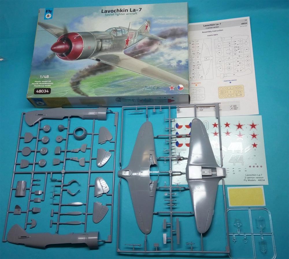 ラヴォーチキン La-7 ソビエト戦闘機プラモデル(フライ1/48 エアクラフト プラモデルNo.48034)商品画像_1