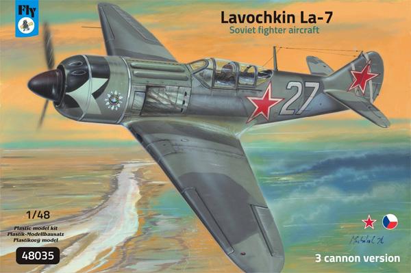 ラヴォーチキン La-7 武装強化型 ソビエト戦闘機プラモデル(フライ1/48 エアクラフト プラモデルNo.48035)商品画像