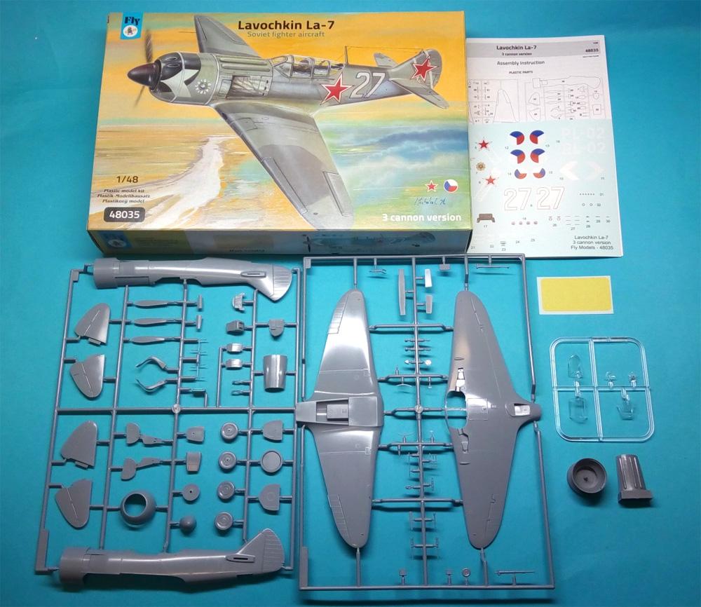 ラヴォーチキン La-7 武装強化型 ソビエト戦闘機プラモデル(フライ1/48 エアクラフト プラモデルNo.48035)商品画像_1