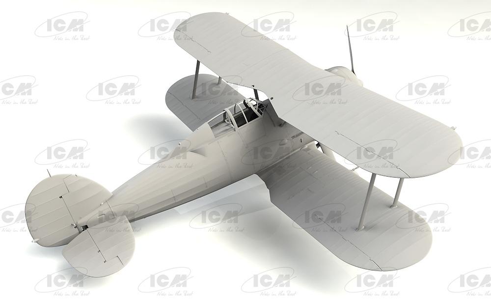 グロスター シーグラジエーター Mk.2 イギリス海軍 戦闘機プラモデル(ICM1/32 エアクラフトNo.34042)商品画像_2