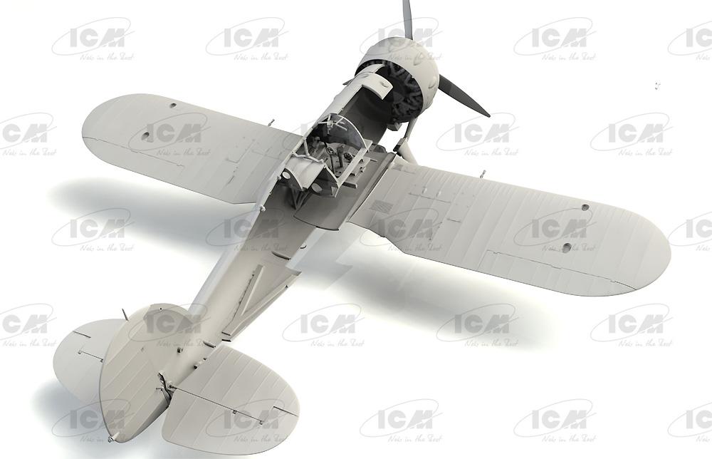 グロスター シーグラジエーター Mk.2 イギリス海軍 戦闘機プラモデル(ICM1/32 エアクラフトNo.34042)商品画像_3