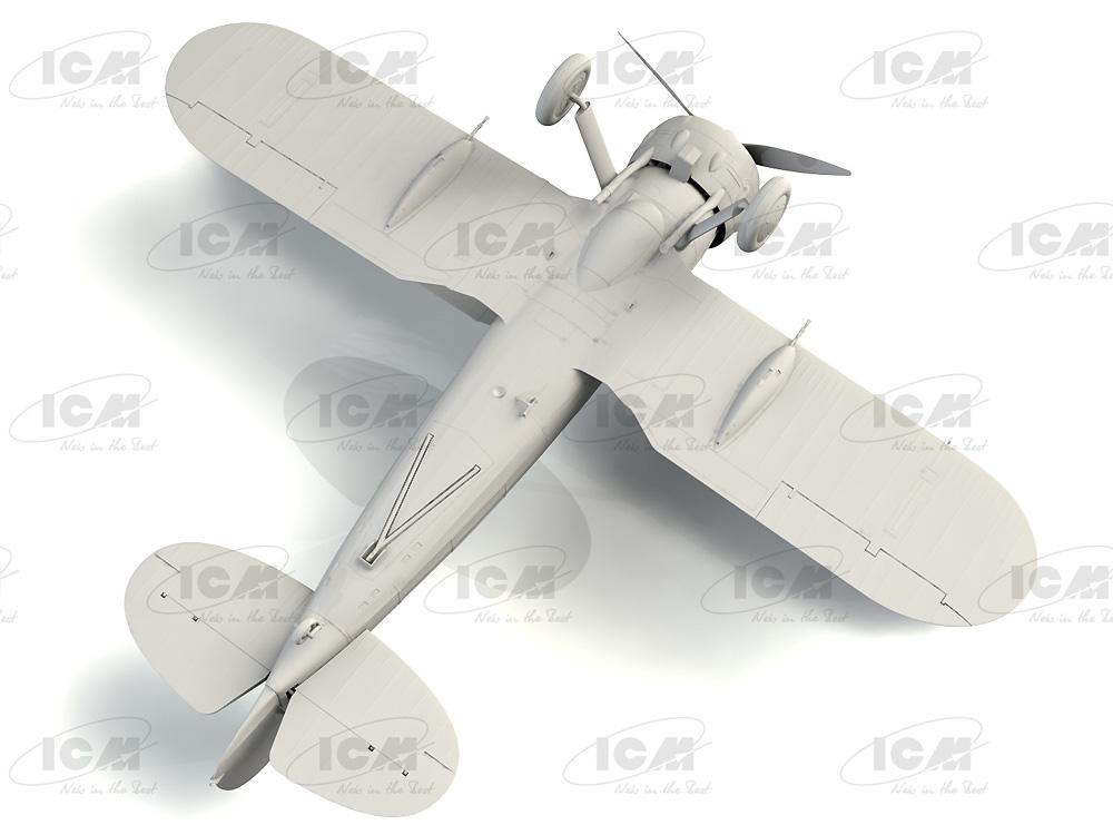 グロスター シーグラジエーター Mk.2 イギリス海軍 戦闘機プラモデル(ICM1/32 エアクラフトNo.34042)商品画像_4