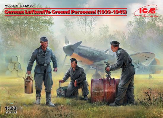ドイツ空軍 グランドクルー 1939-1945プラモデル(ICM1/32 エアクラフトNo.32109)商品画像