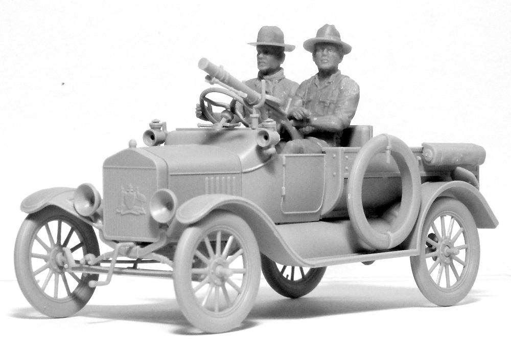 T型フォード 1917 LCP w/アンザック クループラモデル(ICM1/35 ミリタリービークル・フィギュアNo.35668)商品画像_1