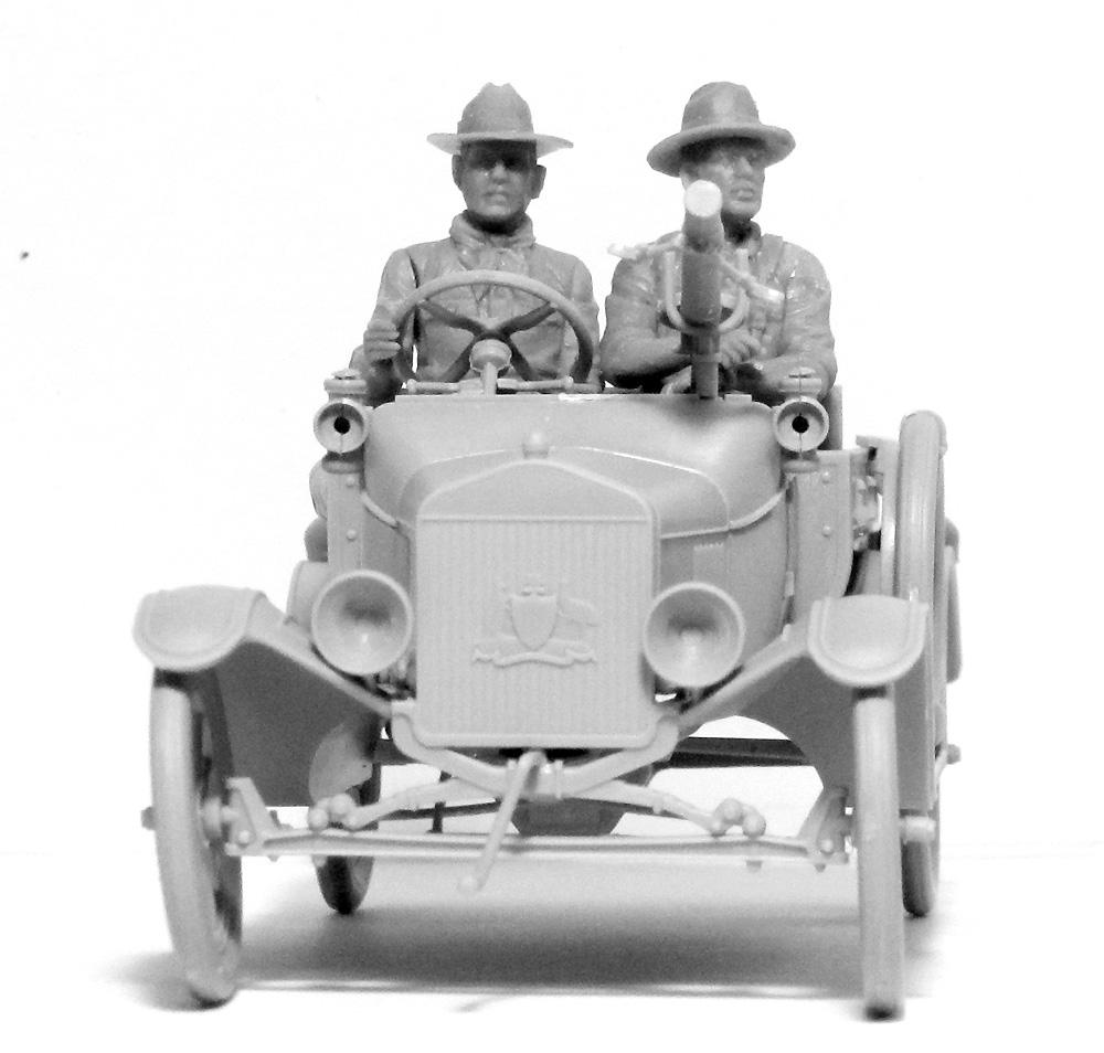 T型フォード 1917 LCP w/アンザック クループラモデル(ICM1/35 ミリタリービークル・フィギュアNo.35668)商品画像_4