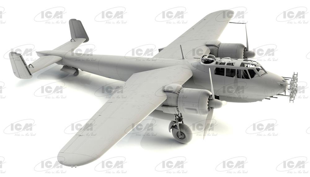 ドルニエ Do217J-1/2 ドイツ 夜間戦闘機プラモデル(ICM1/48 エアクラフト プラモデルNo.48272)商品画像_1