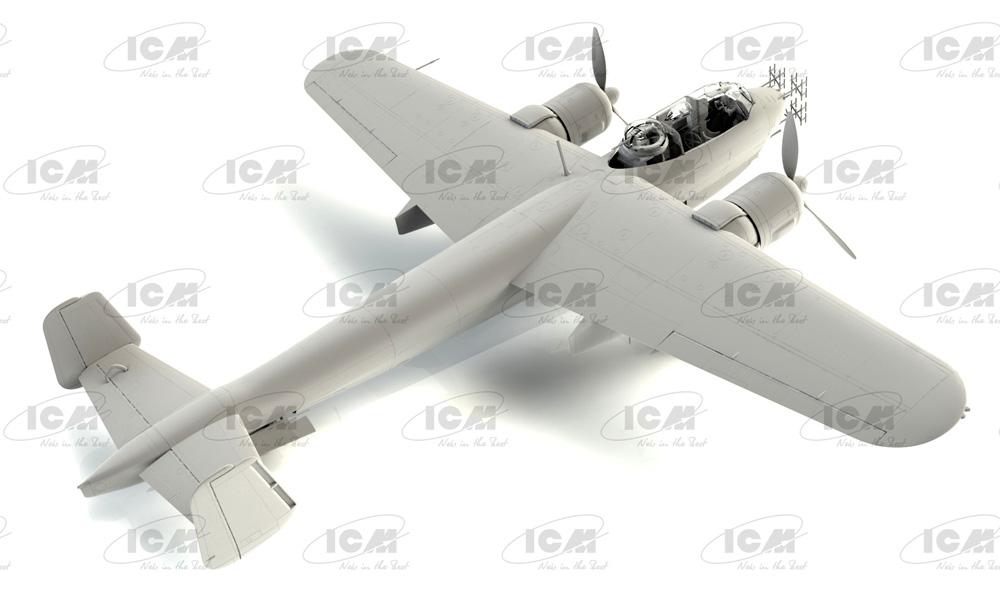 ドルニエ Do217J-1/2 ドイツ 夜間戦闘機プラモデル(ICM1/48 エアクラフト プラモデルNo.48272)商品画像_2