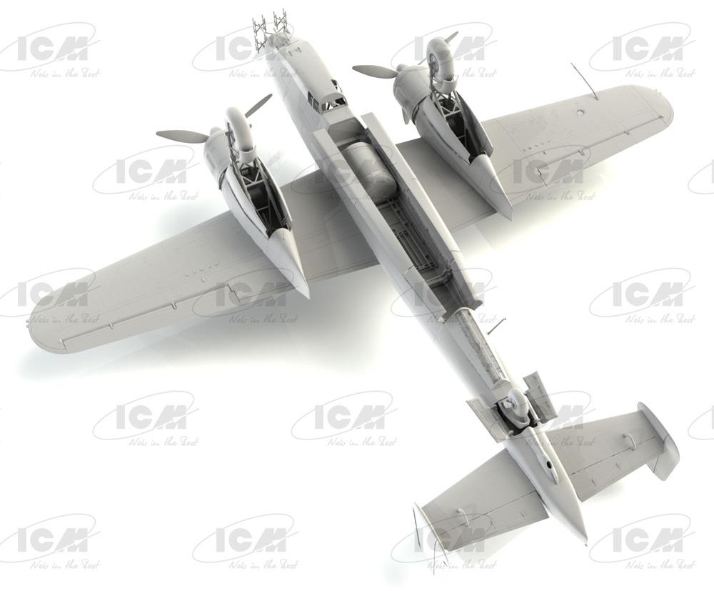 ドルニエ Do217J-1/2 ドイツ 夜間戦闘機プラモデル(ICM1/48 エアクラフト プラモデルNo.48272)商品画像_3