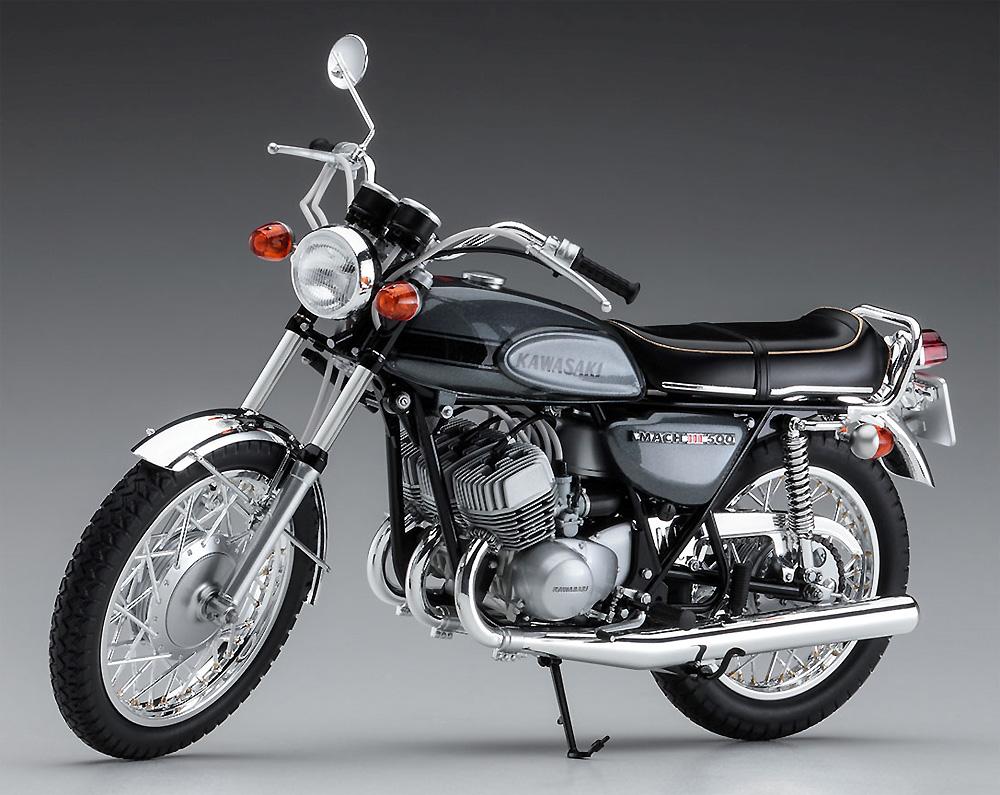 カワサキ 500-SS/MACH 3 (H1)プラモデル(ハセガワ1/12 バイクシリーズNo.BK-010)商品画像_3