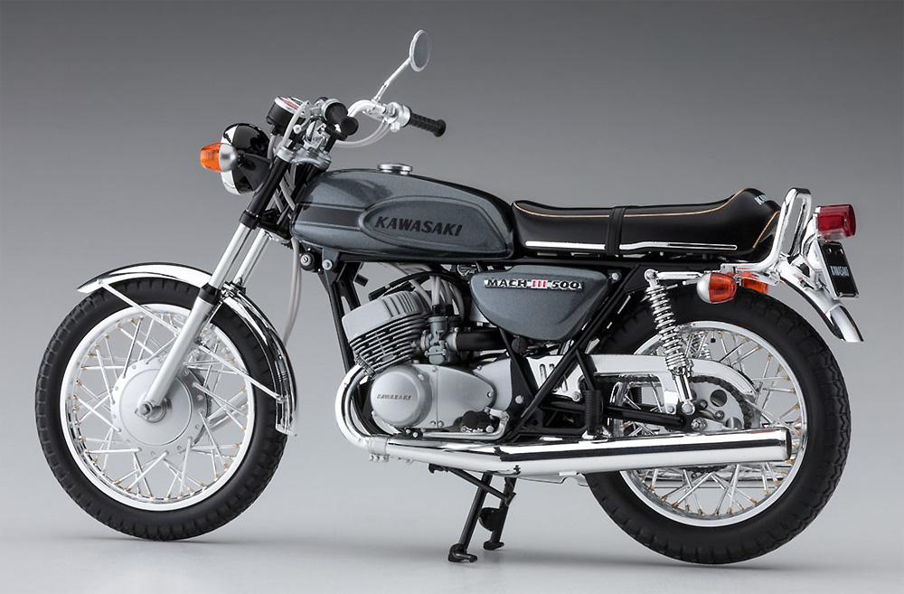カワサキ 500-SS/MACH 3 (H1)プラモデル(ハセガワ1/12 バイクシリーズNo.BK-010)商品画像_4