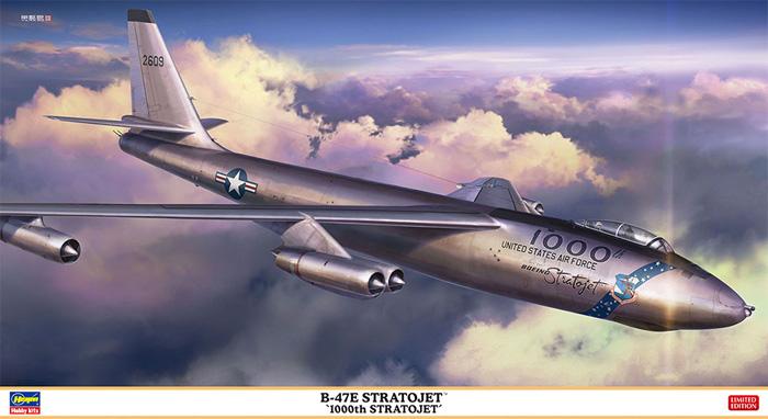 B-47E ストラトジェット 1000th ストラトジェットプラモデル(ハセガワ1/72 飛行機 限定生産No.02350)商品画像