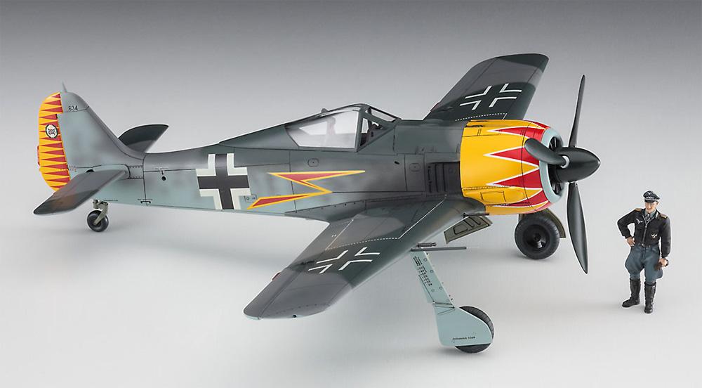 フォッケウルフ Fw190A-4 グラーフ w/フィギュアプラモデル(ハセガワ1/48 飛行機 限定生産No.07492)商品画像_3