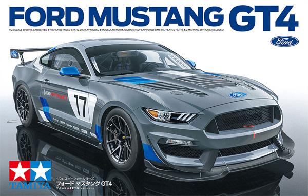 フォード マスタング GT4プラモデル(タミヤ1/24 スポーツカーシリーズNo.354)商品画像