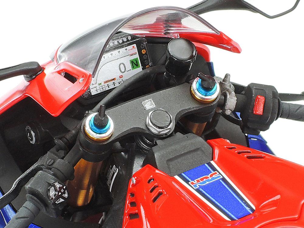 ホンダ CBR1000RR-R フロントフォークセットメタル(タミヤディテールアップパーツシリーズ (オートバイモデル用)No.12690)商品画像_3