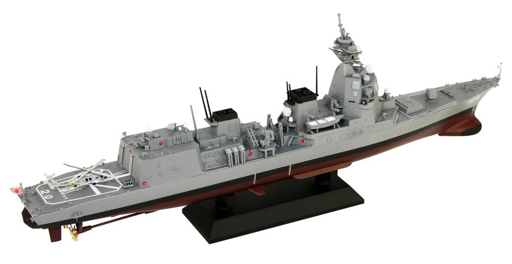 海上自衛隊 護衛艦 DD-120 しらぬい完成品(ピットロード塗装済完成品モデルNo.JPM013)商品画像_3